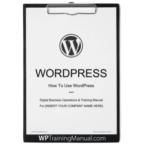 WordPress User Manual Cover [MC04]