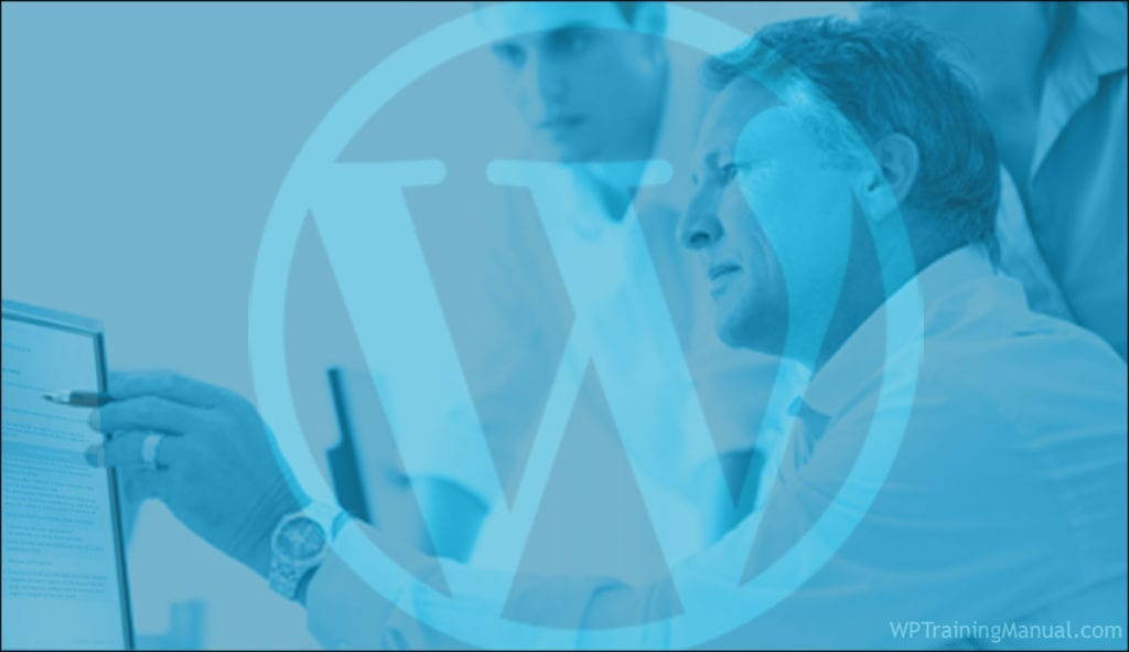 WordPress Client Training