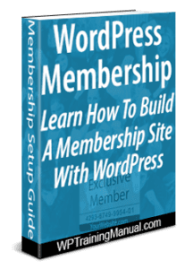 How To Set Up A Membership Site With WordPress