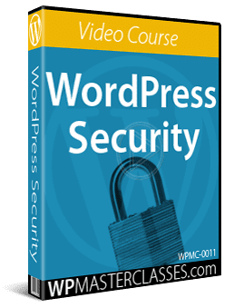WordPress Security - Video Course