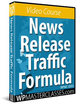 News Release Traffic Formula - Get More Leads & Customers