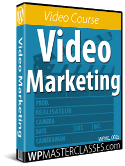 Video Marketing - WPMasterclasses.com