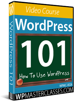 WordPress 101: How To Use WordPress - WPMasterclasses.com