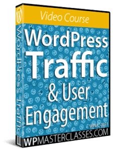 WordPress Traffic & User Engagement - WPMasterclasses.com