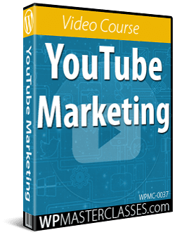 YouTube Marketing - WPMasterclasses.com