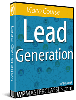 Lead Generation - WPMasterclasses.com