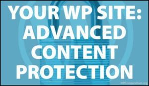 Advanced Content Protection