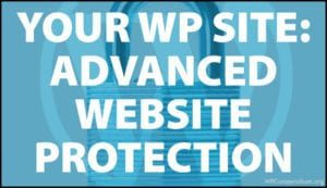 Advanced Website Protection